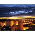 necochea argentina sunset building sky night dark light