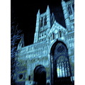 Lincoln cathederal building night uk england
