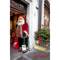 santa claus Christmas fair Germany rothenburg ob der tauber