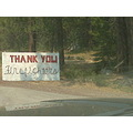 thank you firefighters chester california wildland fires
