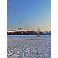 Osijek Croatia bridge ice