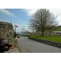 Cornwall Charlestown Sea Coast Road Street Wall Tree Lawn