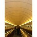 subway underground escalator escalators