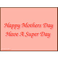 Happy Mothers day 12 6 13