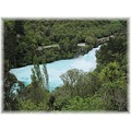 Huka falls from a distance