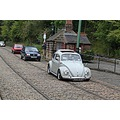 england crich trams vehicles architecture landscape people
