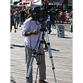 coneyisland brooklynnewyork photographer camera tripod boardwalk people