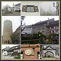 oldestbuildingfriday funfriday castle Regensberg Switzerland collage