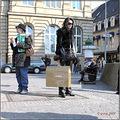 luxembourg people streetphotography woman busstop