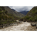 Peru start inca trail Andes nature