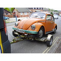 vw vwbeetle vwbug beetle bug orange aa car