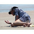 This was an old man that captured my attention at Daytona Beach this past weekend.  He was with h...