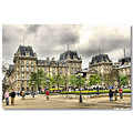 paris france franca praca plaza square parvis