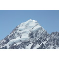 A close up view of Aoraki / Mount Cook