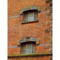 bricks wall texture windows abstract