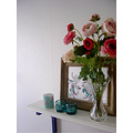 flowers shelf