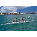 Rowing sculling Bermuda boat ocean girls sport