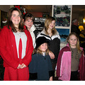 Here are five of the grandchildren following our family Christmas outing and of course they won't...