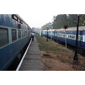 The twain shall never meet, Netravati express down ,one from Mumbai to Tiruvananthapuram the othe...