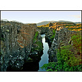naturecomp rock lava nature iceland water fissure green landscape canyon