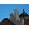 moon architecture sky church