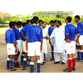 Handshake Sportsman Footballers Player Ground Coach Manager Team Soccer Football