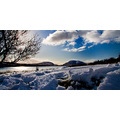 Winter scene in Donegal Lough Mourne