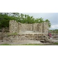 Oaxaca renovated ruin at foot of the mountain