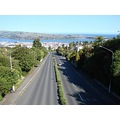 One of the most photographed views, (mainly by visitors), in Dunedin, New Zealand, from the Highg...