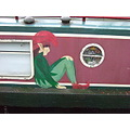 narrowboat relaxing