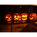 Halloween Pumkins Scary Faces