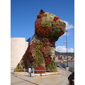 Bilbao Guggenheim sculpture Puppy art