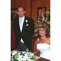 this is my mum suzi and stepdad john on they wedding day
