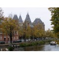 Series Amsterdam Water Green Trees