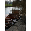 cambridge town city water landscape river boat punt