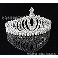 High Quality Exaggerate Crystal Crown Wedding Crown