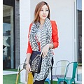 High Quality Elegant Zebra Scarves Wholesale Scarves Free Shipping