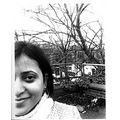 girl woman lady tree trees winter rooftop city face half