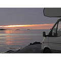 Midnight sun dal camper
