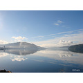 reflection archives otago harbour calm day dunedin new zealand littleollie