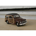 Fiat 500 stationwagon woody brumm 143 scale diecast toy car