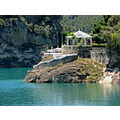 summer house blue water Ardales lakes home Andalucia Malaga Spain