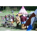 Mediaeval fun at Eastnor castle on May Day. (Is that beer-gut for real?!)