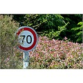 sign speed road