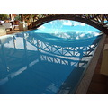 2010 portugal madeira funchal hotel jardinsdolago swimmingpool reflection