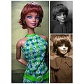 Barbie Wearing a Wig Inspired by Lisa Rinna's hairstyle