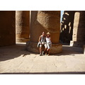 Me and Alex @ Luxor temple in Eygpt 2008