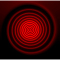 abstract red pattern spiral Bohemia