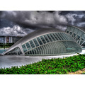 museum Valencia Spain hdr building architecture photomatix
