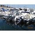 France Provence port bateau boat engine reflection sea